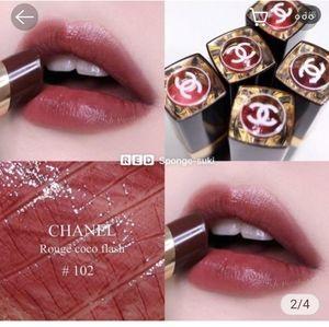 Chanel Rouge Coco Flash 102 Noir Moderne